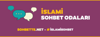 islami chat sohbet odaları