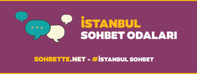 istanbul chat sohbet odaları