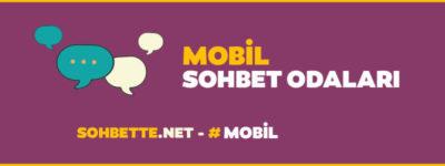 mobil sohbet odaları