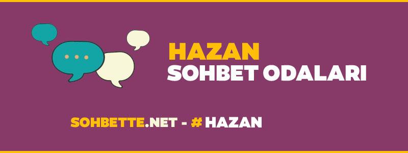 hazan sohbet
